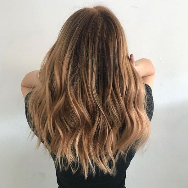 Beachy Highlights That Make Every Hair Color Look Perfectly Sunkissed Brown Hair Looks Cool Blonde Hair Purple Hair Color Ombre