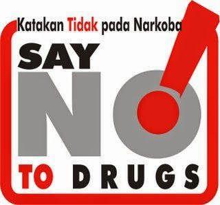 katakan tidak pada narkoba, say no to drugs!