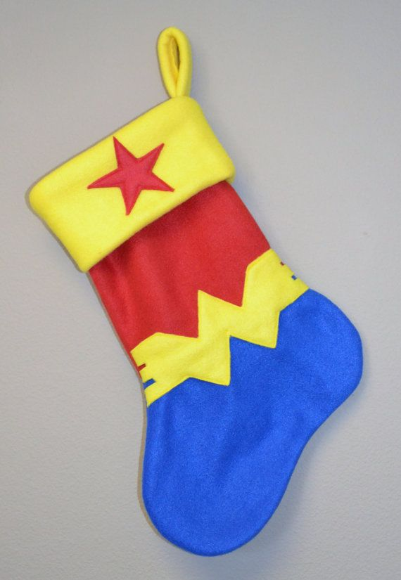 Wonder Woman Inspired Stocking by LucysRebellion