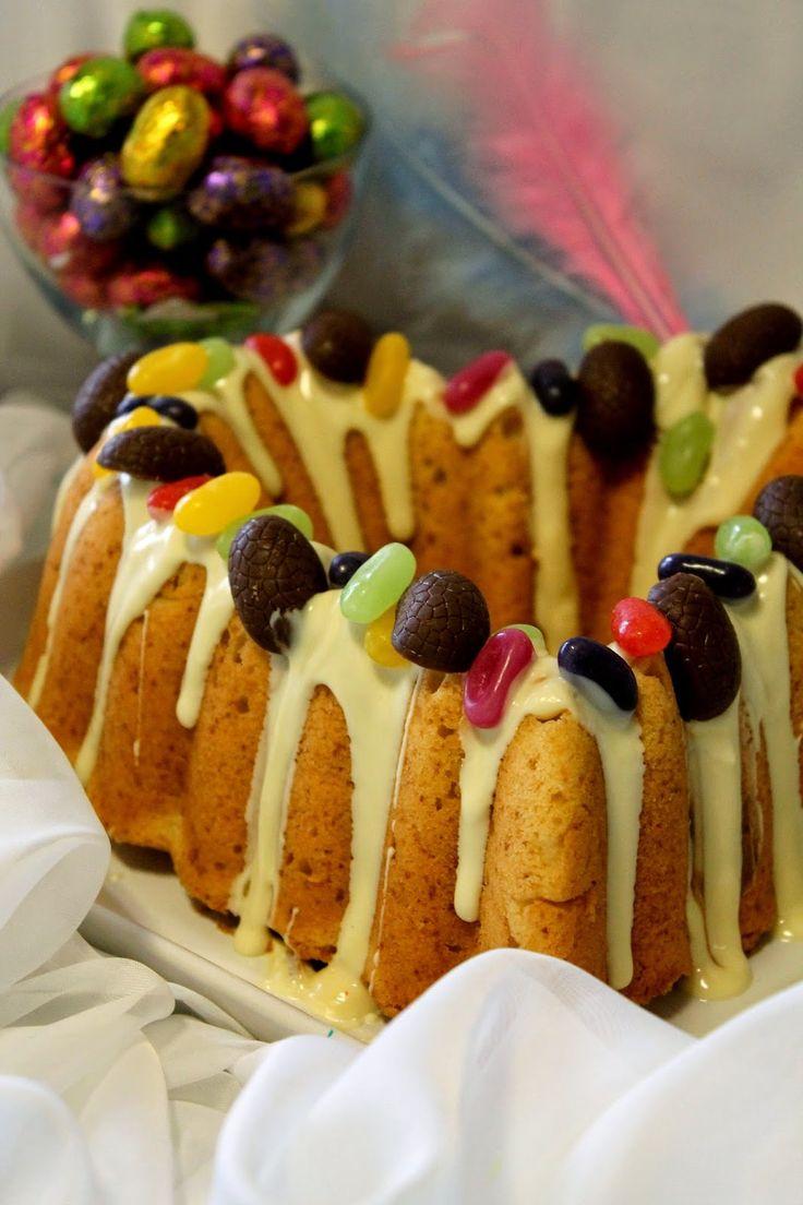 Kakkuviikarin vispailuja!: Sitruuna-kermakakku