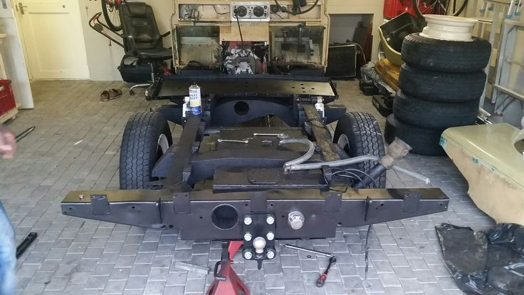 Chassis Sprayed