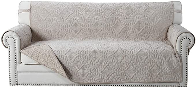Amazon Com Ostepdecor Premium Sofa Cover Couch Cover Quilted