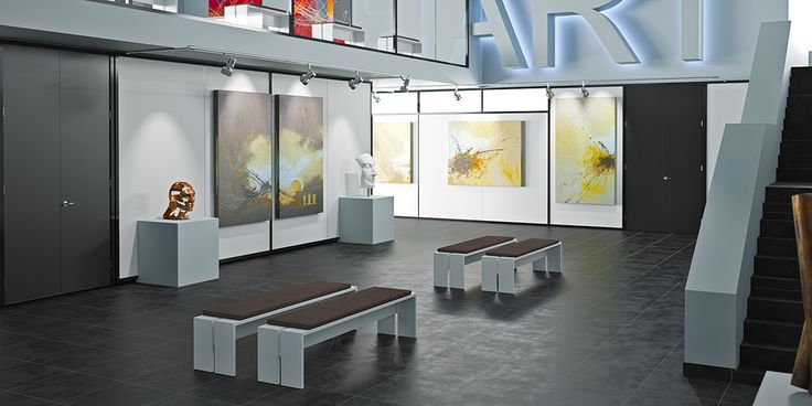 PA 150 at an art gallery