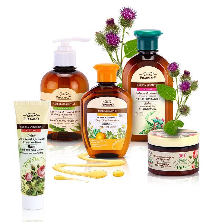 Produsele cosmetice Green Pharmacy se axează pe medicina tradițională pe bază de plante, producând uimitoare produse din plante medicinale.