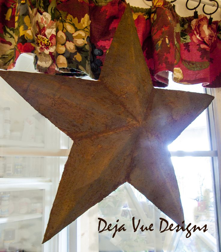 Hometalk :: Making a Texas Star...from a Leftover Box