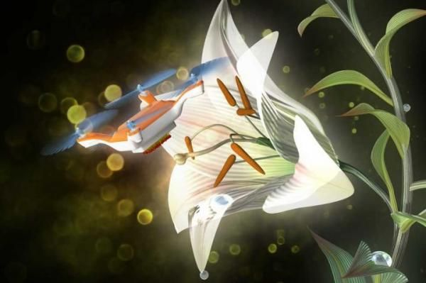 Scientists in Japan found a way to pollinate flowers without the help of insects.