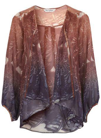 miss selfidge waterfall jacket