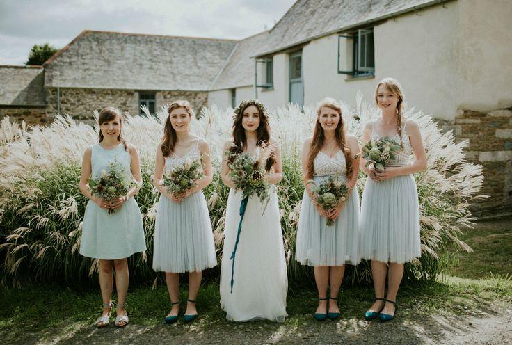 Earthy Garden Wedding on the English Countryside ...