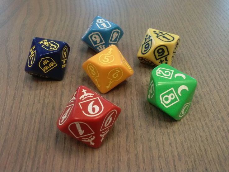 """Custom dice for a Polish wargame """"By Fire and Sword"""""""