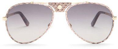 Roberto Cavalli Women's Aviator Sunglasses