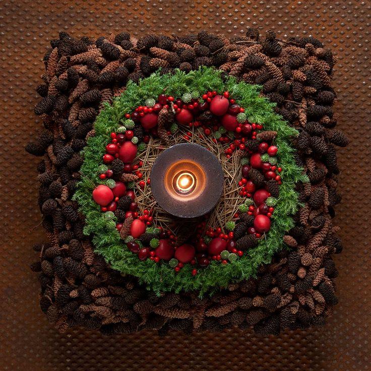 Beautiful christmas wreath.