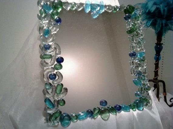Decadently Decorated Mirror