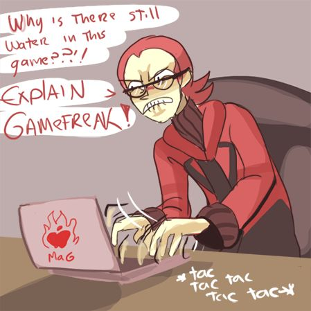 Imagine Team Magma writing that IGN review.