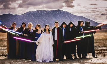 This Couple Pulled Off A 'Star Wars'-Themed Wedding On A $5k Budget