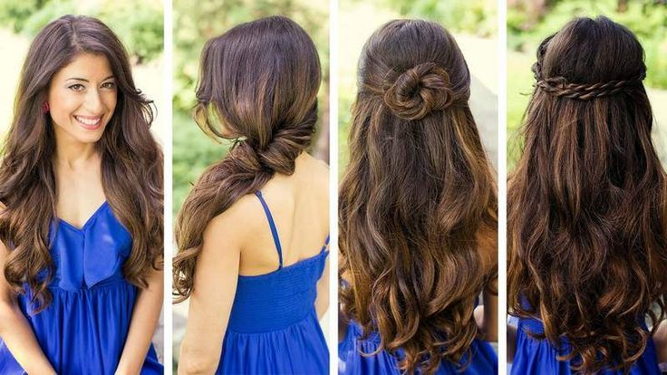 Easy and quick hairstyles for school, work and office