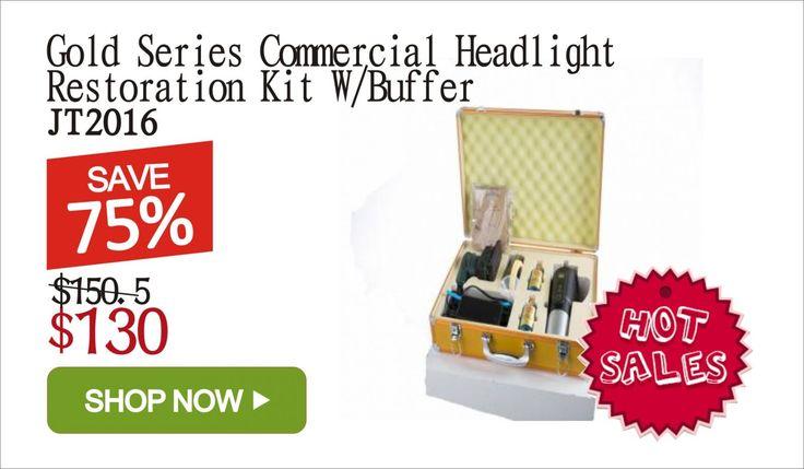 Auto headlight lamp restoration kit  http://jtautoparts.com/special-offers-c.html