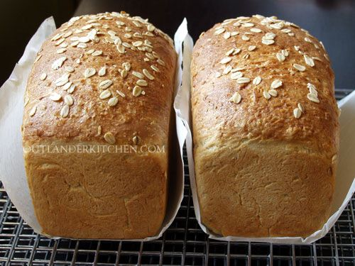 Honey-Buttermilk Oat Bread at Madame Jeanne's from Voyager - Outlander Kitchen