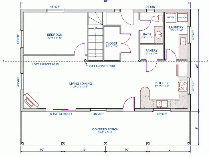 small house plans 24 x 36. Floor plan main floor of 24 x40  home 17 best Arched Home Plans images on Pinterest Small homes Tiny