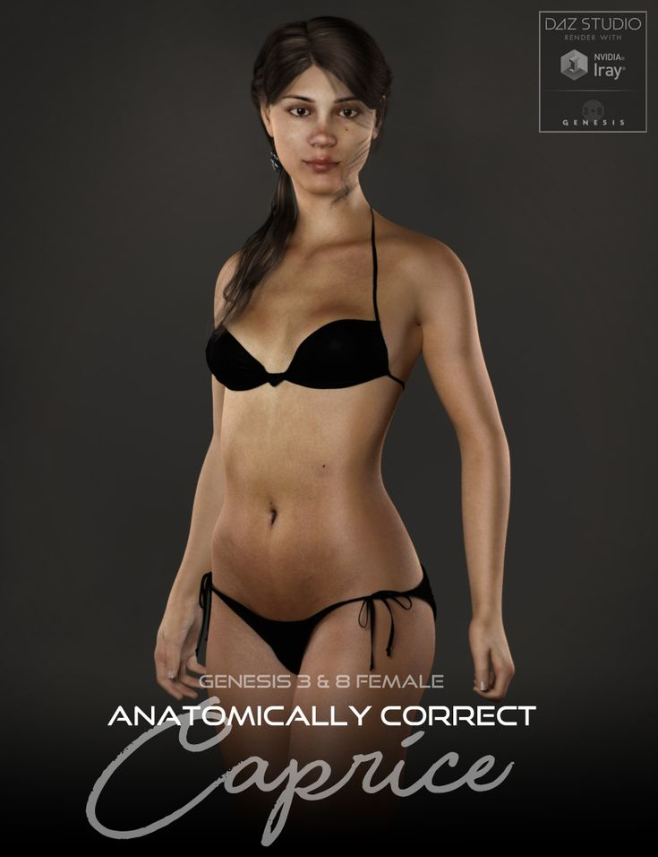 NEW Anatomically Correct: Caprice for Genesis 3 and Genesis 8 Female http://www.most-digital-creations.com/poser_daz_studio_all_products.htm