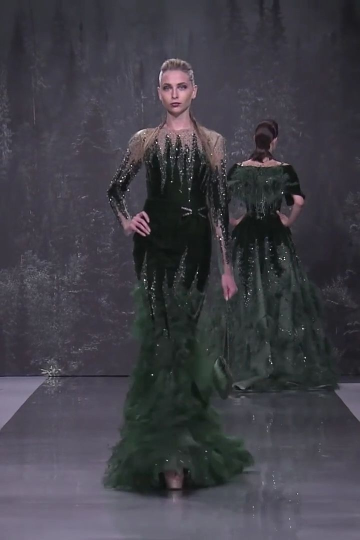 Ziad Nakad Look 4. Fall Winter 2018/2019 Haute Couture Collection