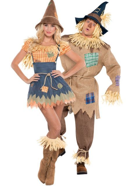 Scarecrow Couples Costumes so excited for these!