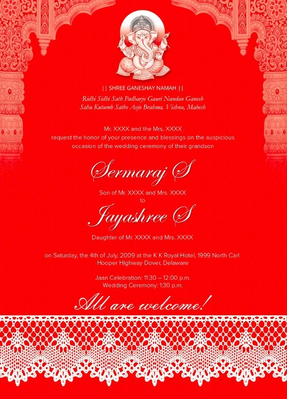 35 Traditional Wedding Invitations Psd Indian Wedding
