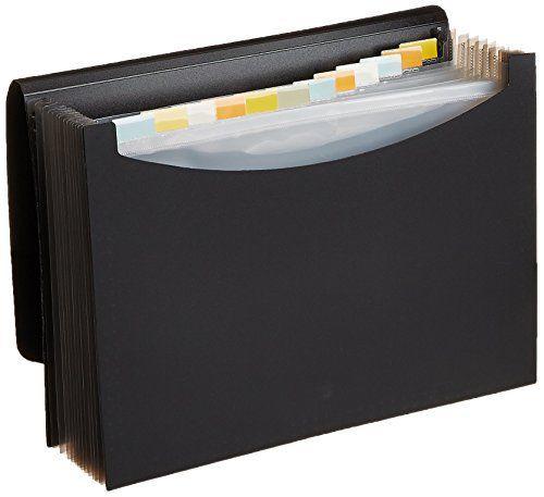 AmazonBasics Porte-document trieur Format lettre: Porte-documents trieur pour organiser et ranger vos papiers et documents importants…