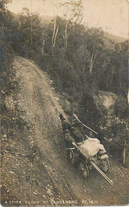 The Dandenongs.1911.