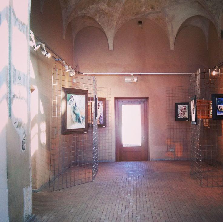 VIBRAZIONI INCONSCE. Mostra personale. Dal 22 al 30 aprile 2017. Sala del Bergognone, ex Monastero degli Olivetani, Nerviano.