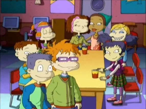 All Grown Up Rugrats | Image   The Rugrat Eight (All Grown Up).
