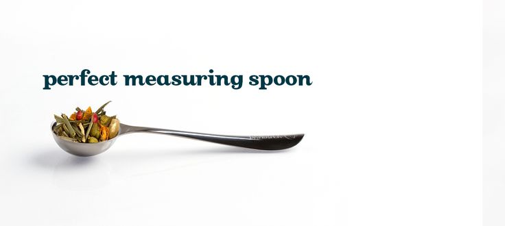Perfect Measuring Spoon - Stainless Steel Tea Spoon Sized Perfectly To Make A Cup Or Pot Of Loose Leaf Tea   DavidsTea