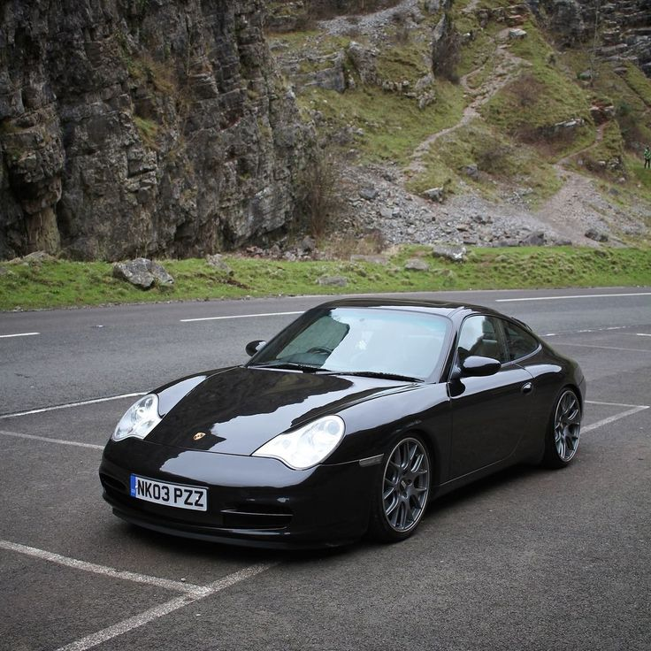2003 PORSCHE 911 CARRERA 2 BLACK BBS WHEELS H&R COILOVERS in Cars, Motorcycles & Vehicles, Cars, Porsche | eBay!