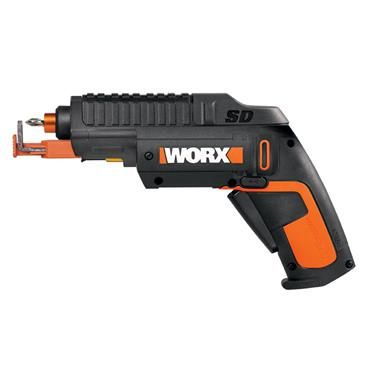 WORX SD 4V MaxLithium SemiAutomatic Driver Screwdriver w/ Screw Holder - WX255L