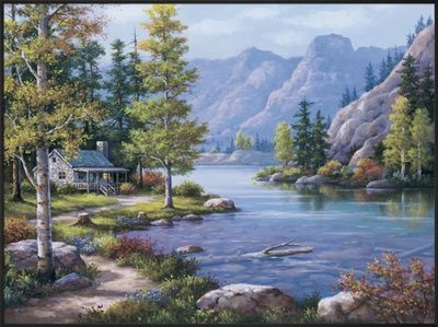 Lakeside Lodge by Sung Kim