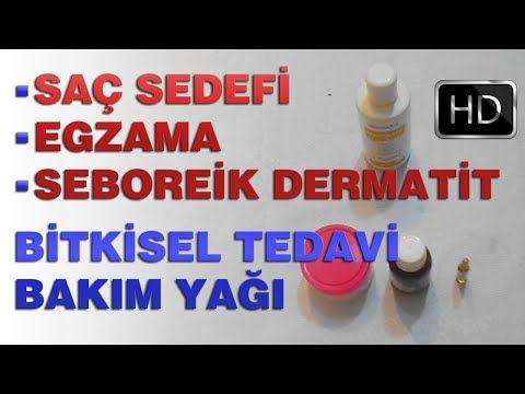 Saç sedefi, Egzama Veya Seboreik Dermatit Bitkisel Tedavi Bakım Yağı Karışımı | Modanzi - YouTube