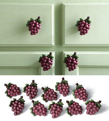 Set of 10 Grapevine Cabinet Drawer Pulls
