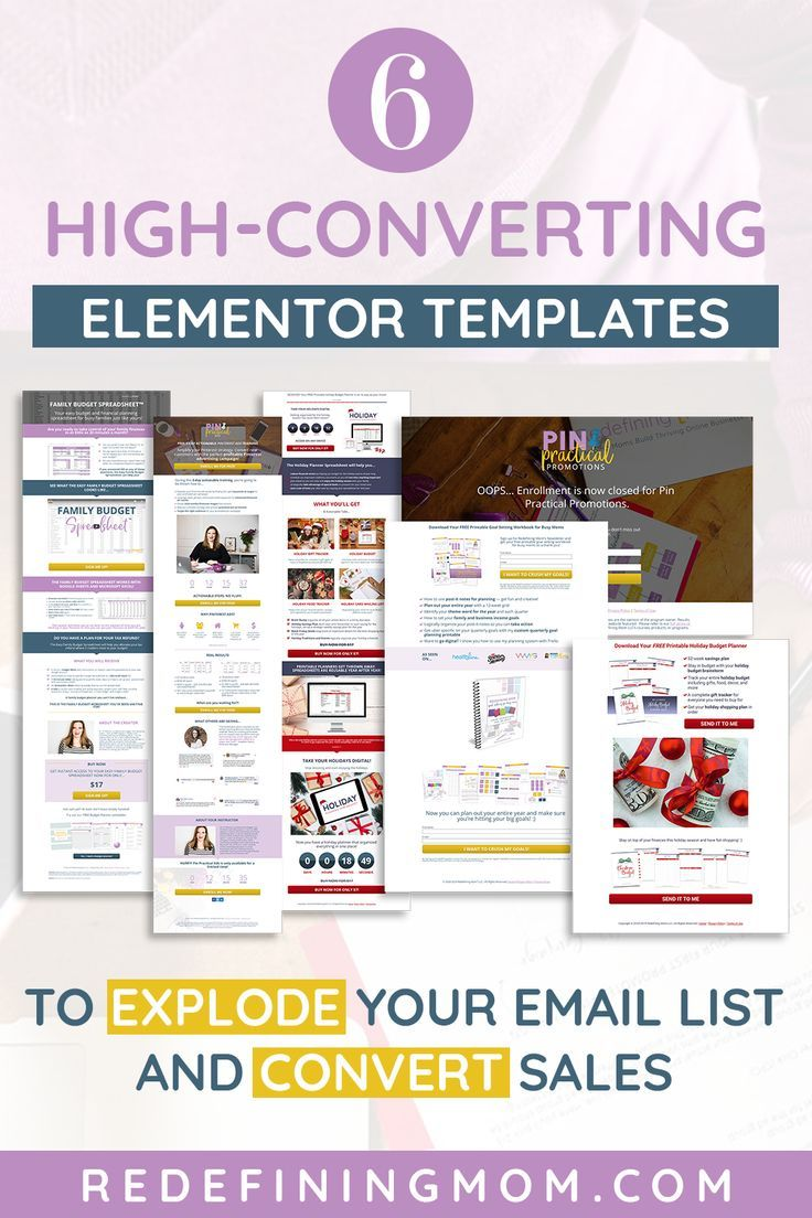 Elementor Sales Funnel Template that Convert Sales!