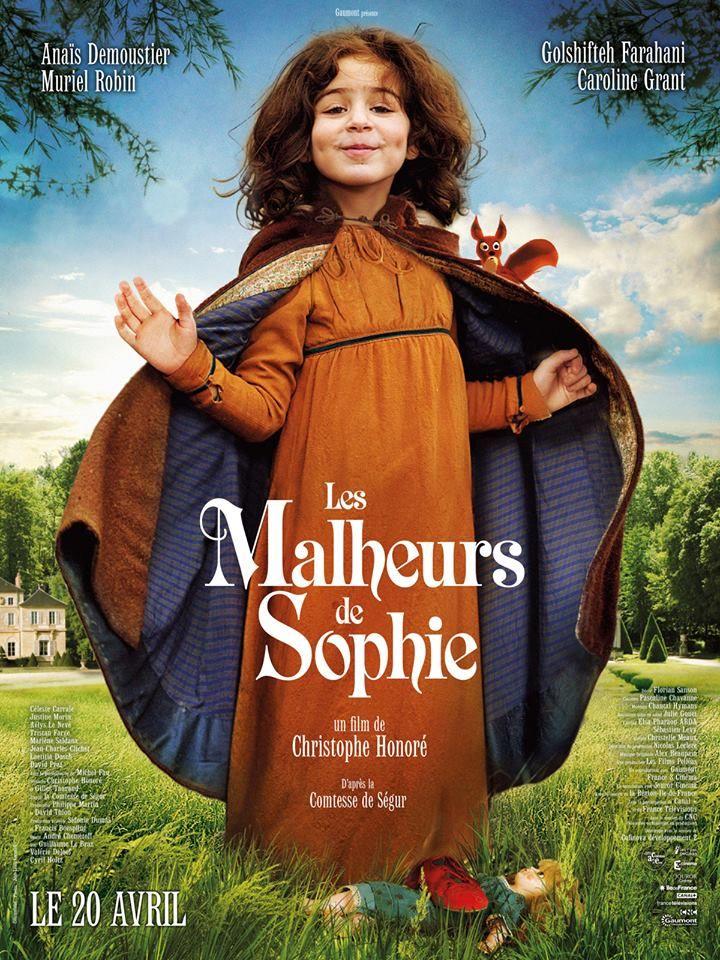Les Malheurs de Sophie réalisé par Christophe Honoré : une jolie adaptation, mercredi prochain au cinéma. http://place-to-be.net/index.php/cinema/en-salles/4513-les-malheurs-de-sophie-realise-par-christophe-honore