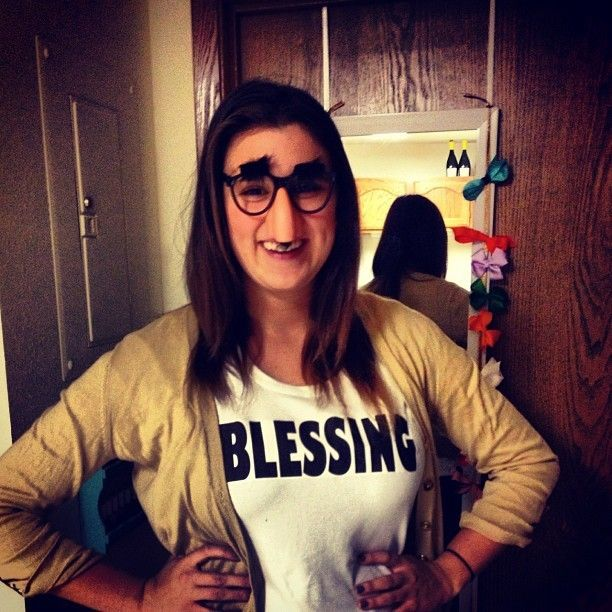 Blessing in disguise. What a creative idea!  #Halloween