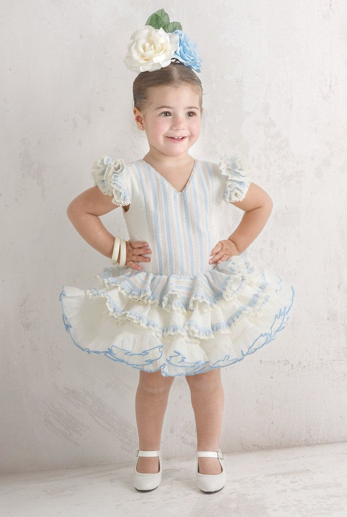 Traje de gitana flamenca para niña MiBebesito gtn307 niña