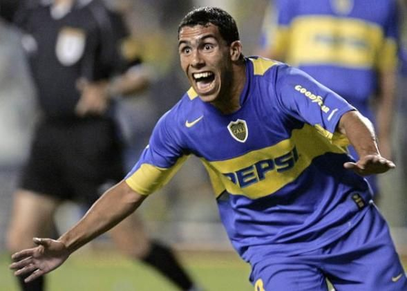 Carlitos Tevez BOCA JUNIORS