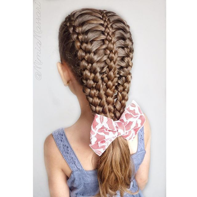 hair style bow 25 best ideas about bow braid on pretty 9511