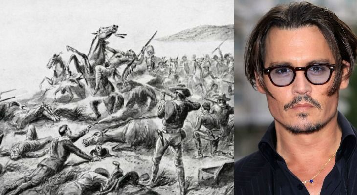 Johnny Depp - Wounded Knee