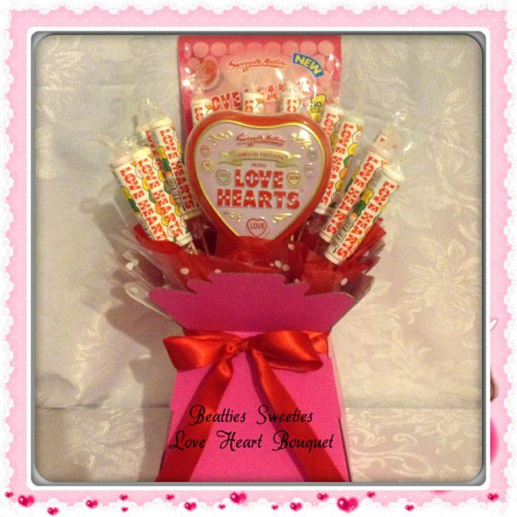 Love heart bouquet