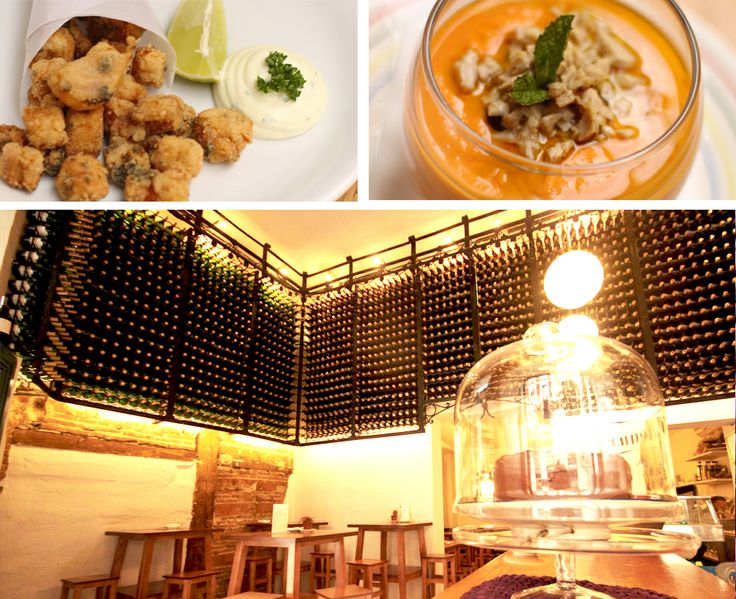 """Lambuzo. Abacería&Tapas. Calle de las Conchas,9 (+34)911 43 48 62 My family's restaurant. If you want to try the true taste of the South in the city-center, you can go there. Authentic Andalusian tapas, typical from Cádiz. Traditional dishes of """"pescadito frito"""" (fried fish) and """"mojama"""" (cured tuna) take you right to the coast."""