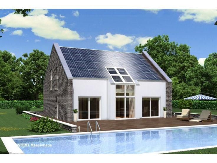 Massivhaus modern satteldach  Die besten 25+ Energiesparhäuser Ideen auf Pinterest ...