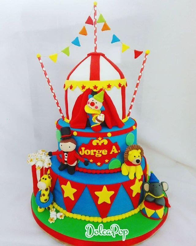 Circus Cake Pedidos y cotizaciones ☎62221447 #circuscake #circus #circusparty  #payaso #clown #cookies #cookie #galletas #torta #bolo #cake #dulces507 #dulce #dulcespanama #reposteriaartistica #reposteria #reposteriacreativa #reposteriapanama #customcakespanamacity #customcakes  #celebralavida #dolcapop