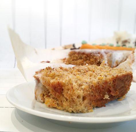 Dieser supersaftige Rüeblicake enthält kein Mehl – und auch sonst nix, dass Gluten enthalten könnte. Wir bieten in unserem Laden auch Backwaren an, die für Allergiker geeignet sind. Glutenfre…