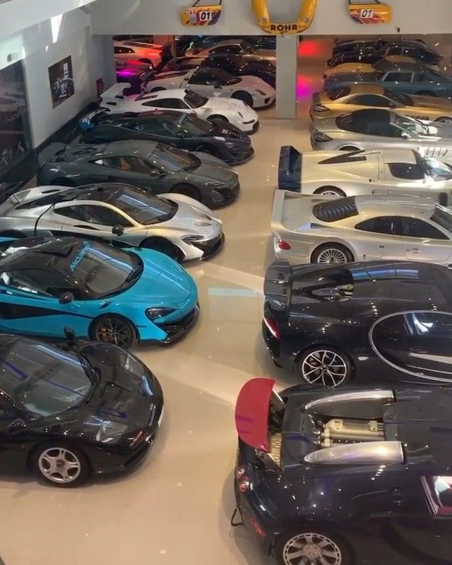 Who Can Guess The Total Value Of The Collection1 S Insane Car Collection P Top Luxury Cars Car Collection Luxury Cars