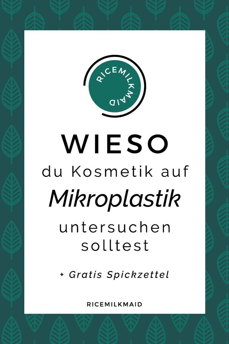 Mikroplastik: Die Kleinen Plastikpartikel Aus Unserer Kosmetik Gelangen  Durch Die Abwasser Ins Meer, Werden